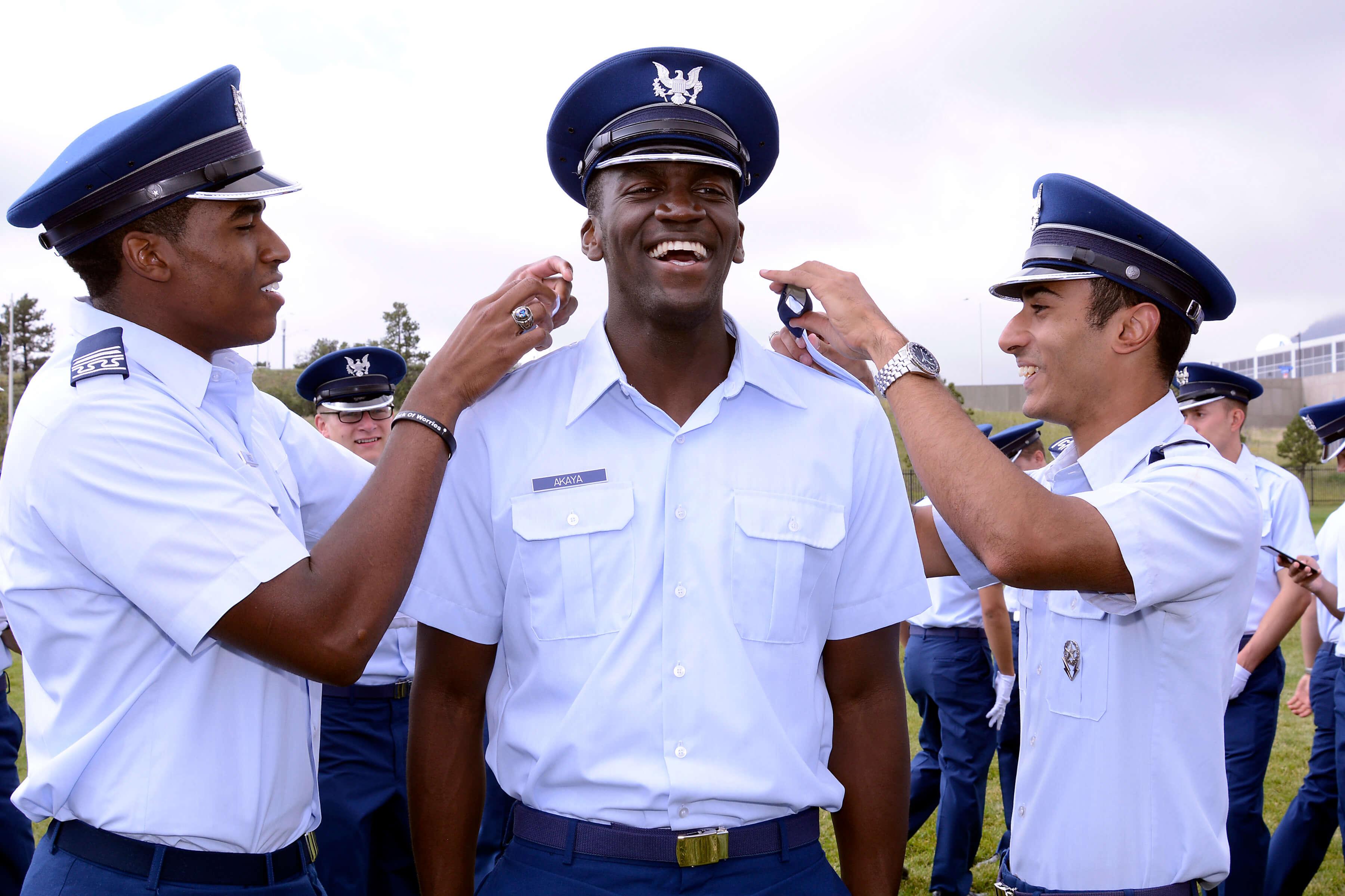 1,181plete Basic Training, Join Cadet Wing
