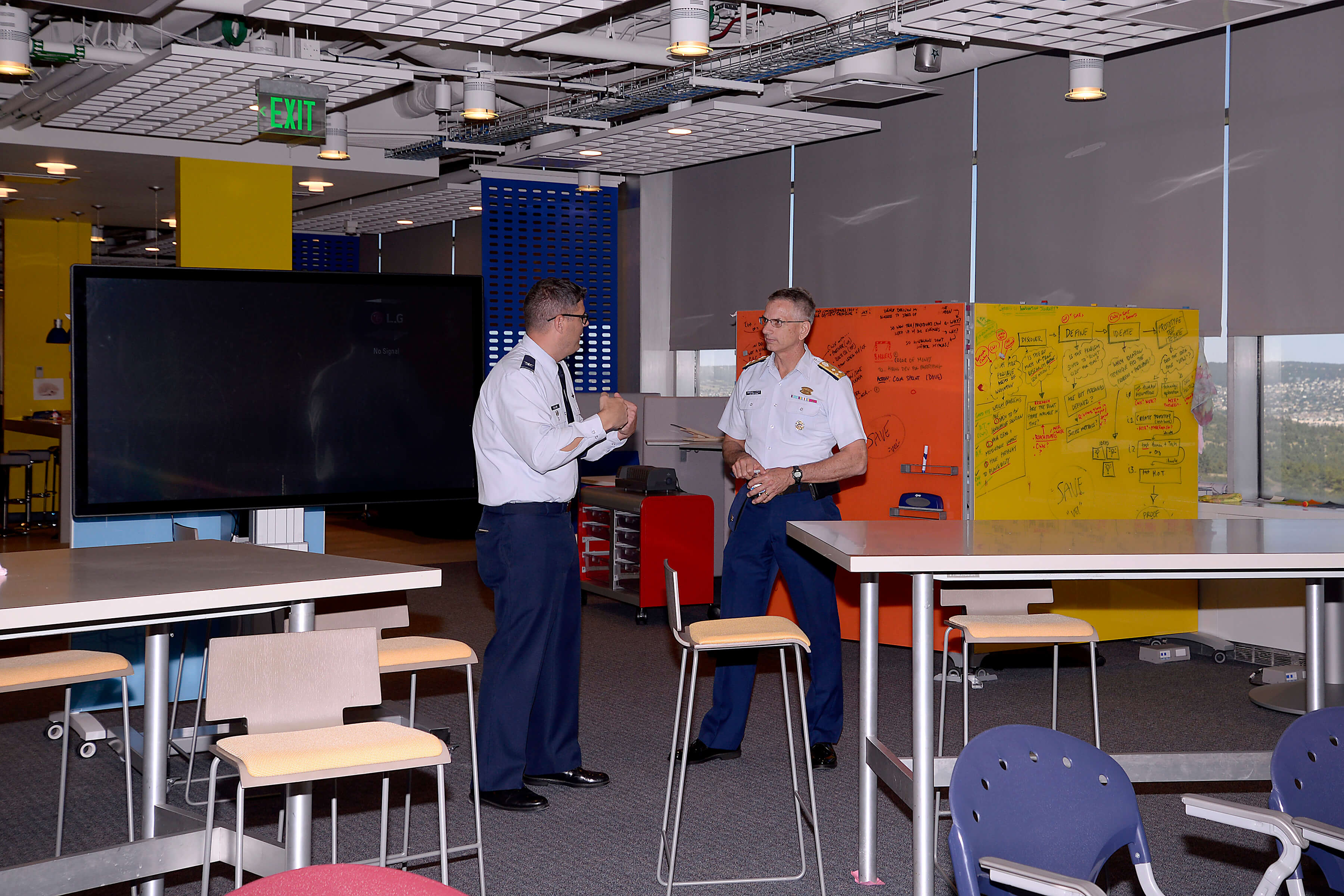 Vice Admiral Lytle at CyberWorx 2
