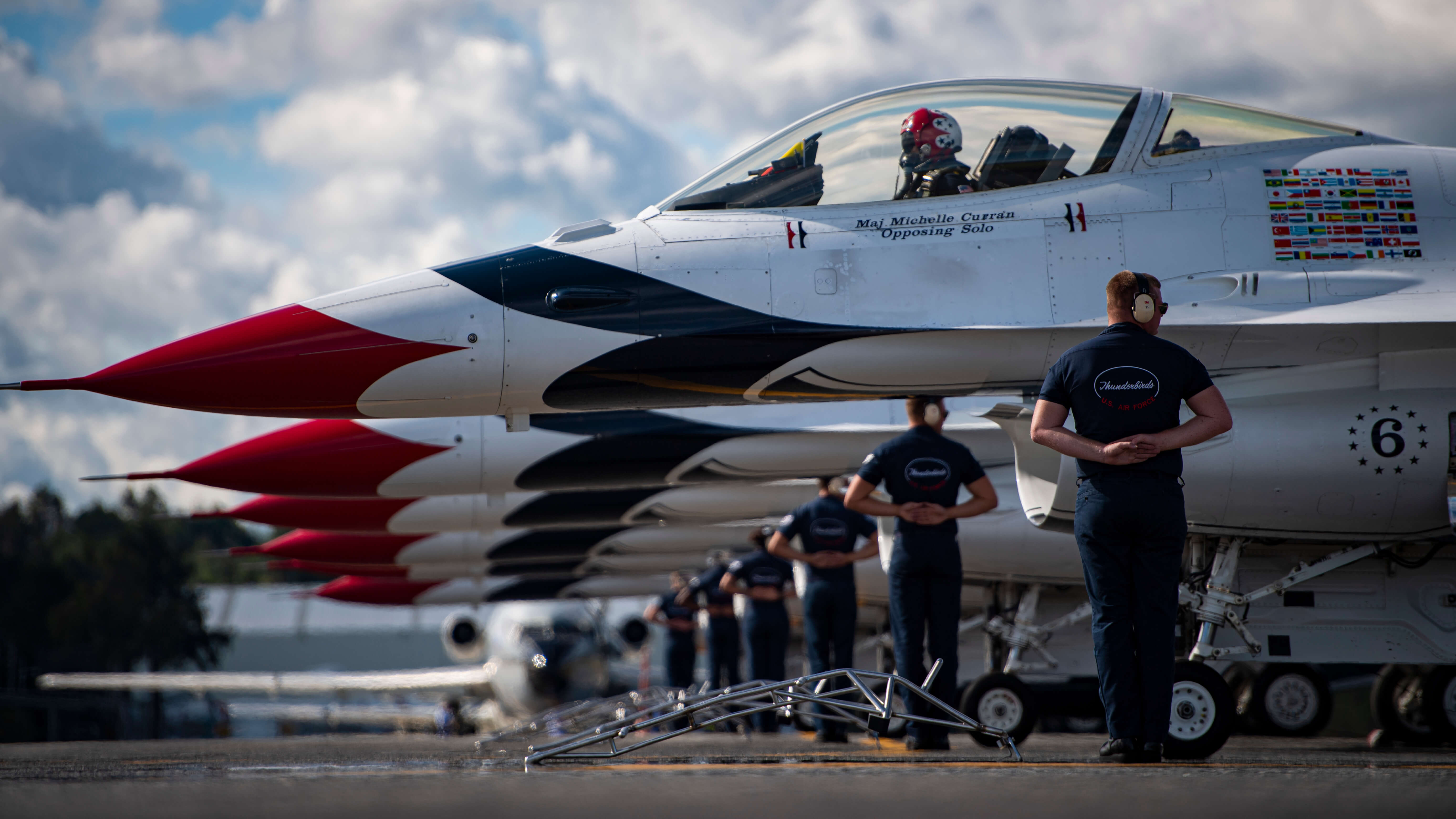 Academy graduates selected for Thunderbirds 2020 demonstration