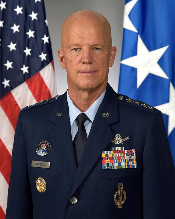 CSO, Gen John (Jay) Raymond