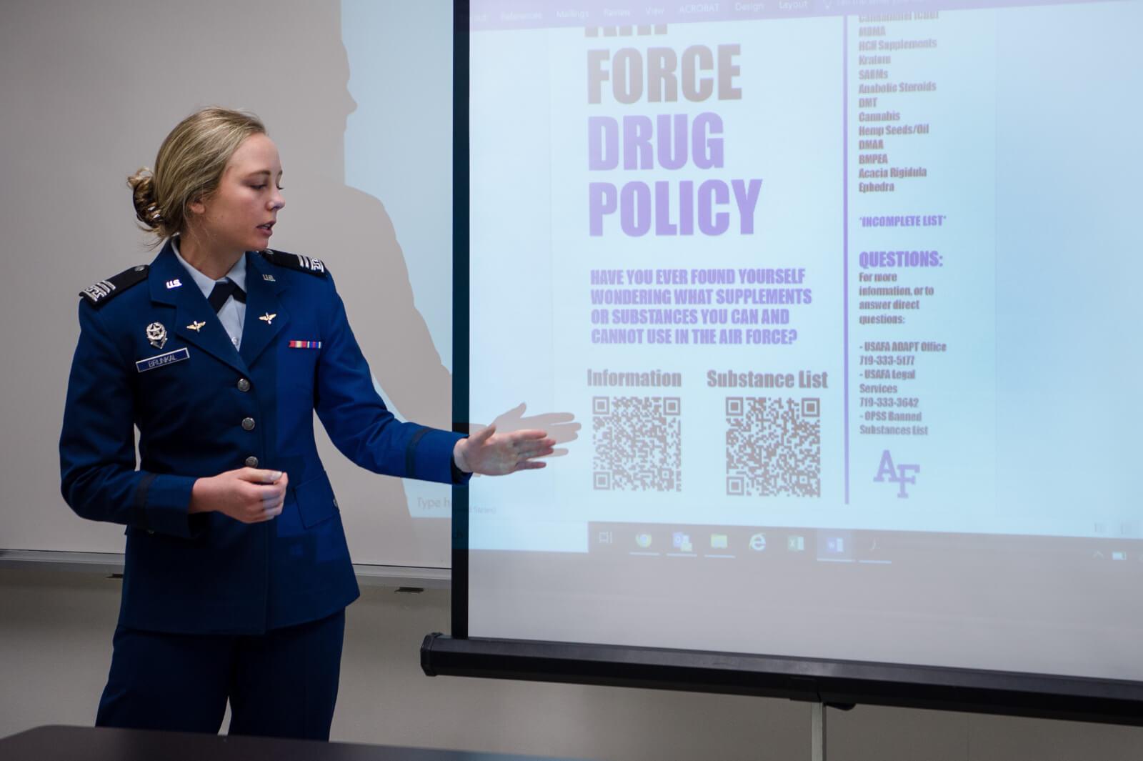 U.S. Air Force Academy Drug Policy presentation