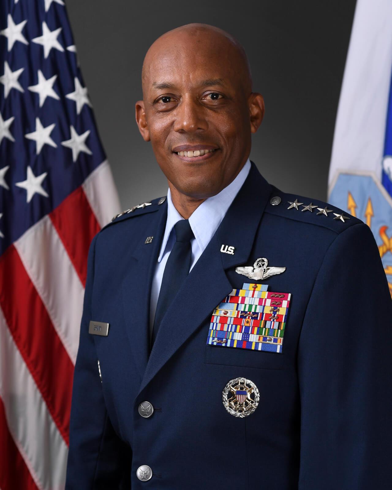 CSAF, Gen Charles Brown