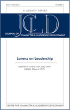 JCLD 2019-Vol2 Number3 Edition Report cover