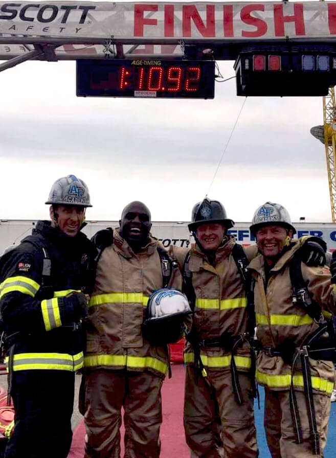 10th CES Firefighters