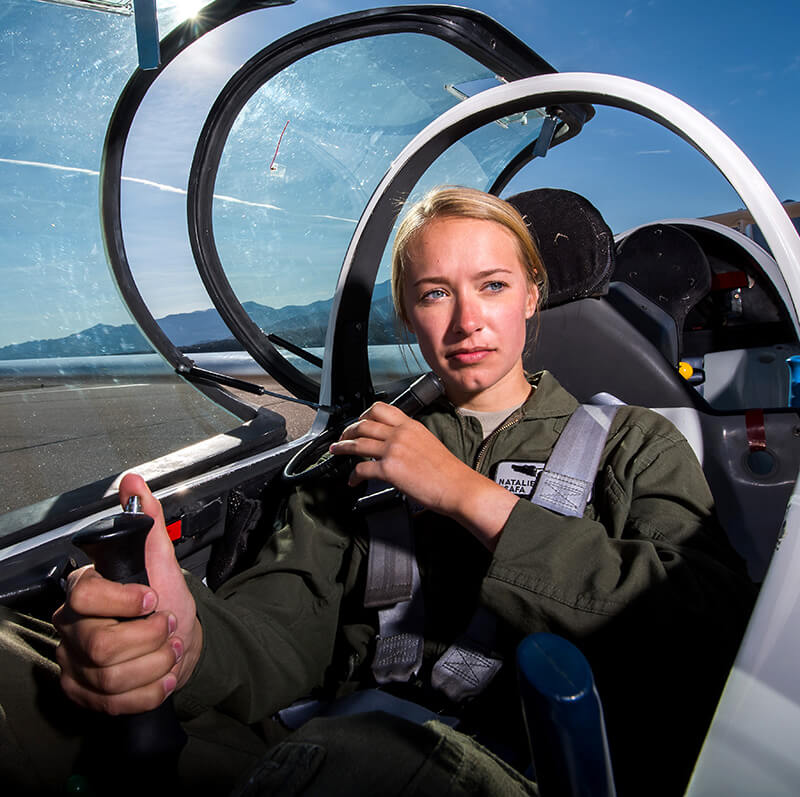 Para chute mage to support Airmanship soaring program.