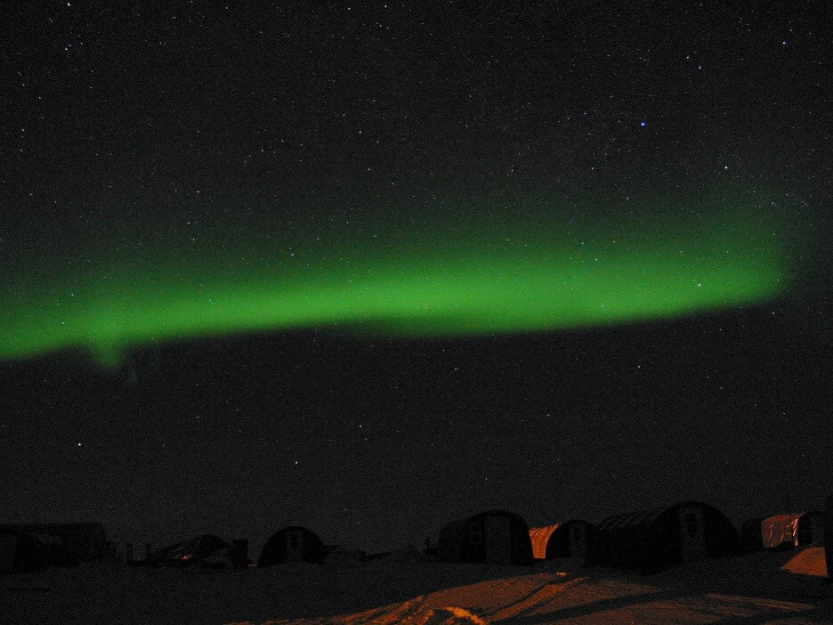 Aurora image from photometer
