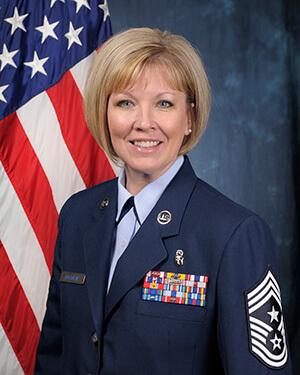 Image of Chief Master Sgt. Lisa Buckman