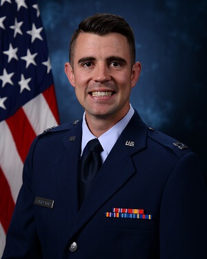 Official photo of Capt Kevin Cardenas