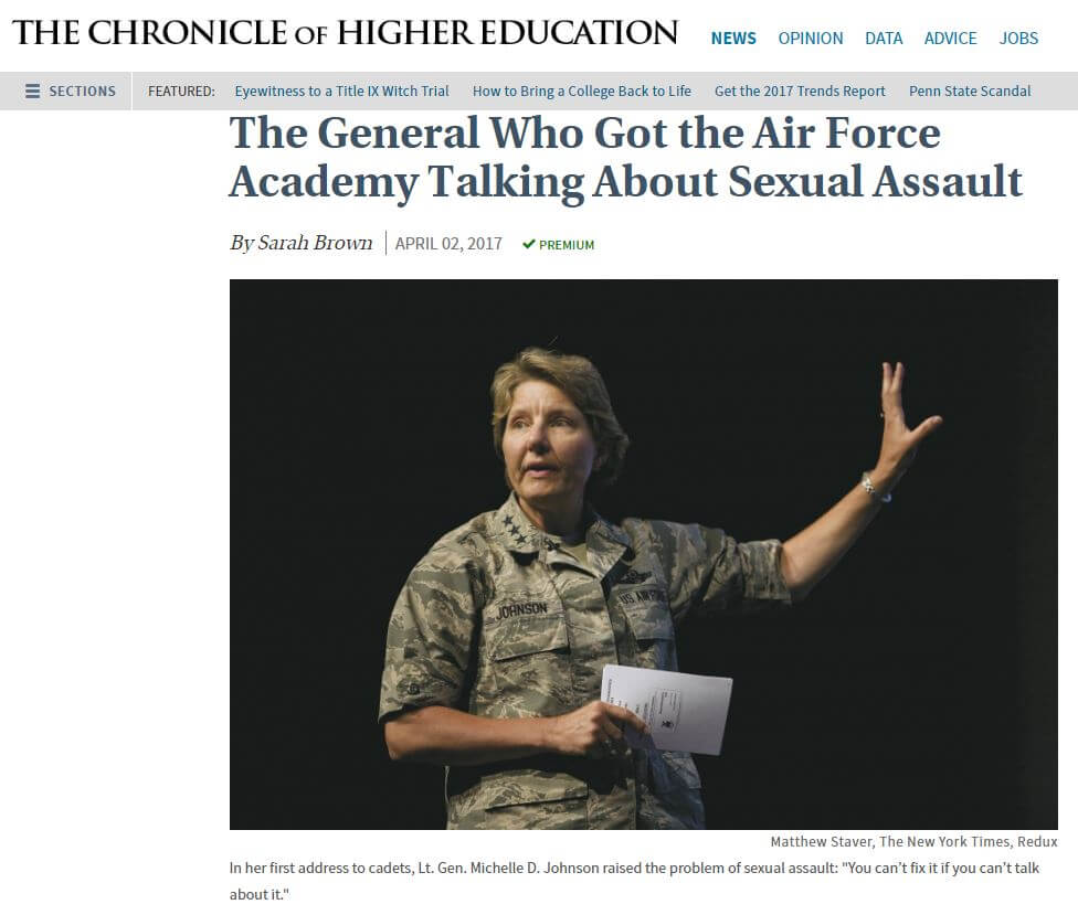 Sexual harassment military new york times