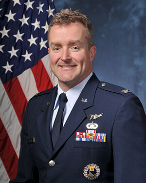 Colonel Troy Harting