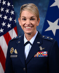 Official photo for Brigadier General Michele Edmondson