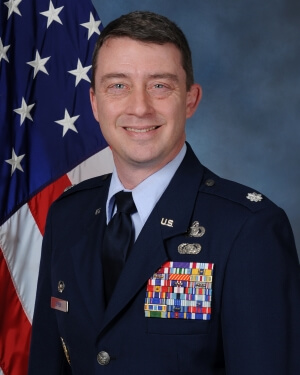 Official Photo of Lt. Col. Michael Epper