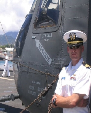 Official Photo of LCDR Corey Fogle