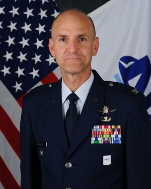 Official Photo of Colonel Paul Gillespie