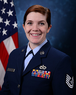 Official photo of TSgt Grills (DFCE)