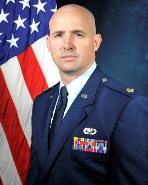Official Photo of Major Jacob Harley