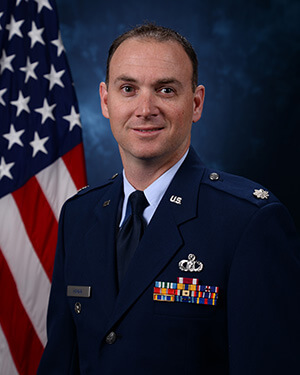 Official photo of Lt Col Homan (DFP)