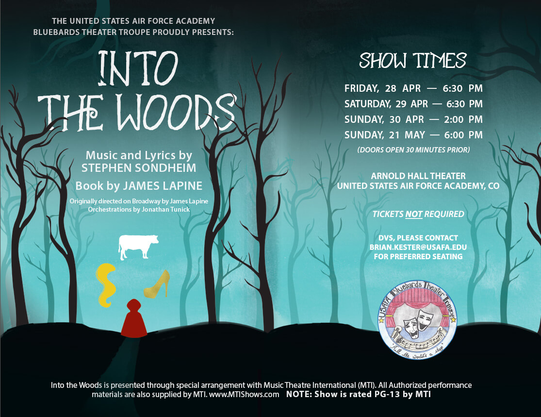 Into The Woods @ Arnold Hall Theater