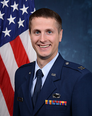 Official photo of Captain Daniel Johnson
