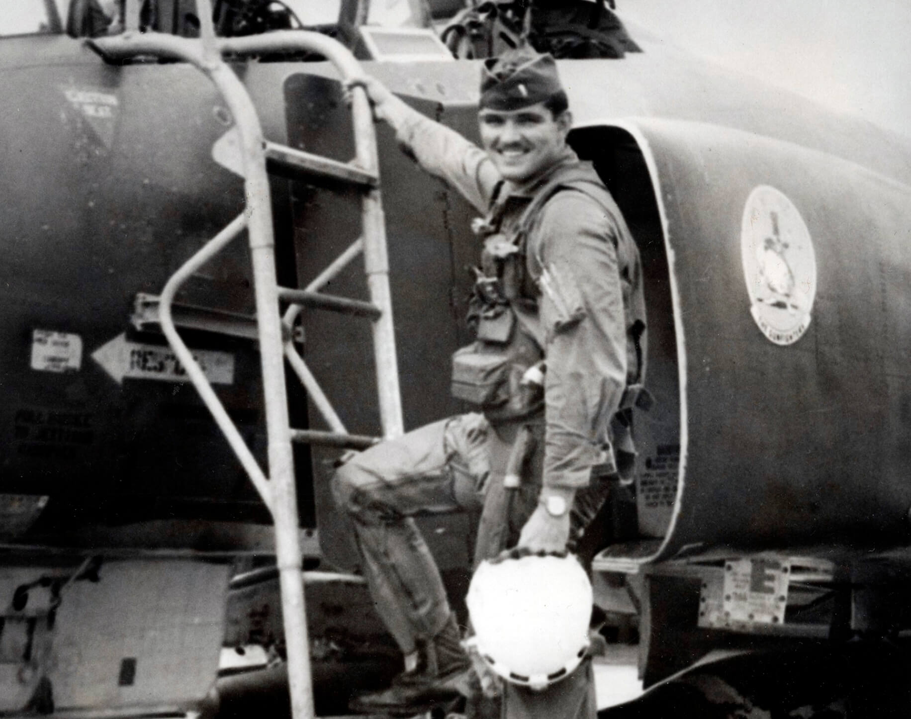 Capt Sijan Boarding Plane