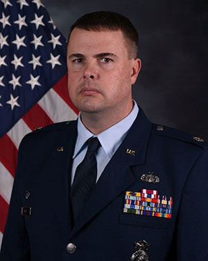Official photo of Lt Col Mays (CCLD)