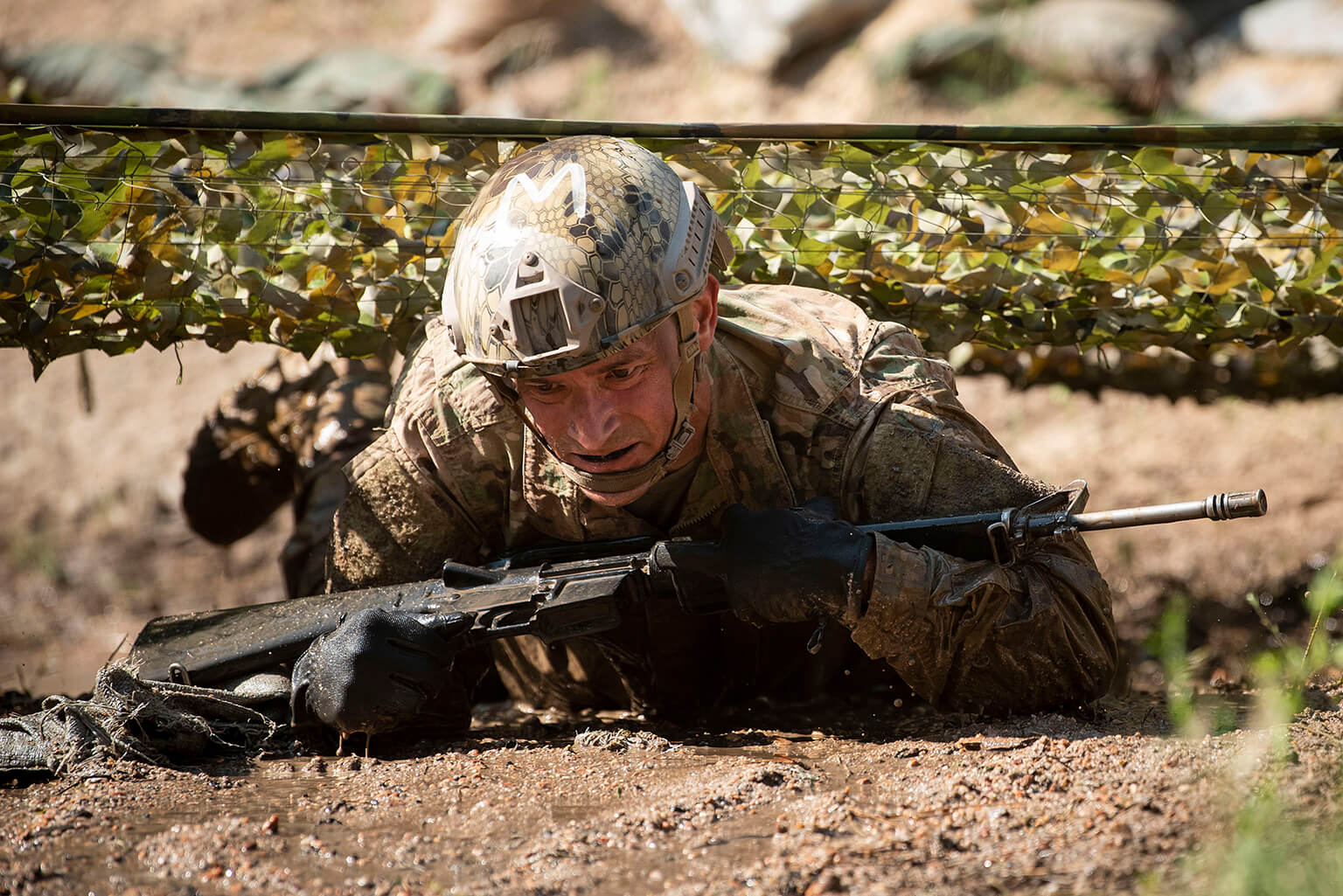 Commandant of Cadets at the A Course during BCT
