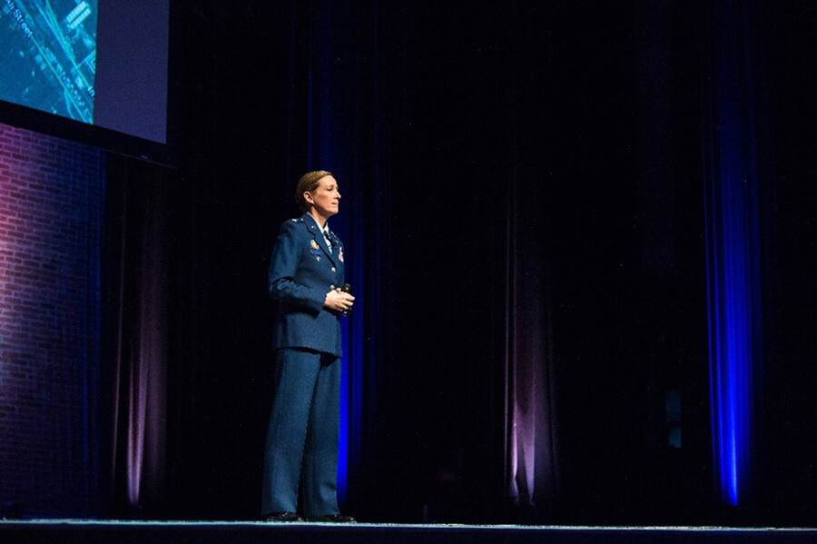 Colonel Kim Campbell shares her story of bravery and inspires decisive leadership.