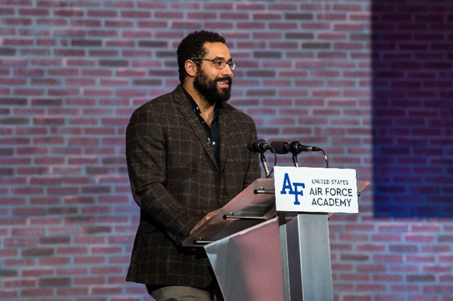 John Urschel shared his experience as an NFL athlete and mathematician.