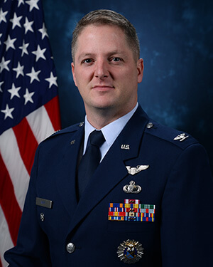 Official photo of Colonel Brian Neff