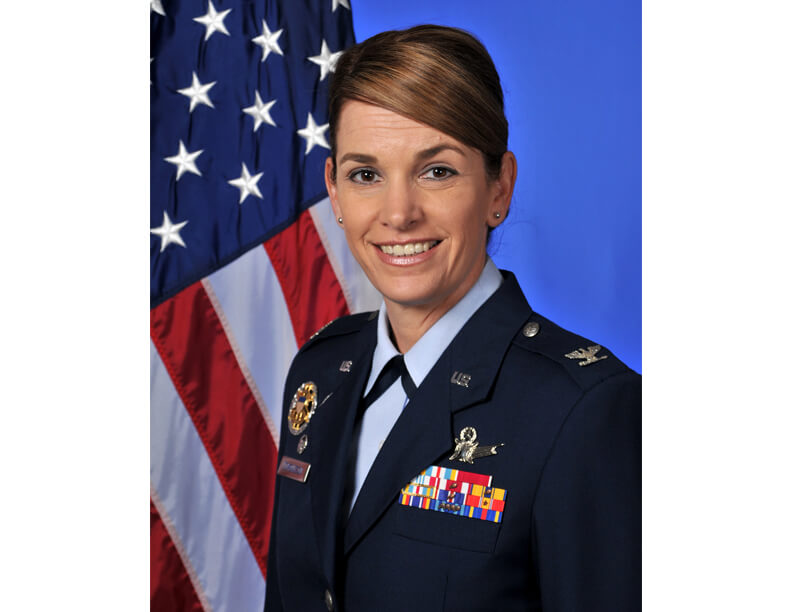3d8bfefeeda Gen. Michele Edmondson is shown here as a colonel. The general has been  selected to be the new commandant of cadets at the U.S. Air Force Academy  next year.