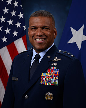 Official photo of Lieutenent General Richard M. Clark