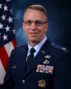 Official photo of Colonel Cooney (DFBL)