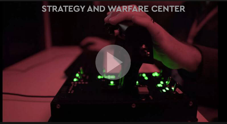 Strategy and Warfare Center video poster graphic