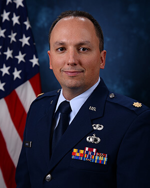 Official photo of Major Scovillle
