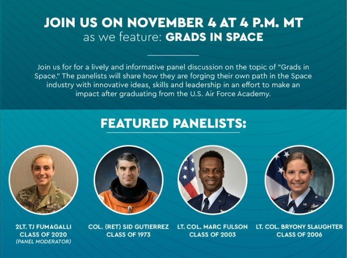 Grads in Space Panel