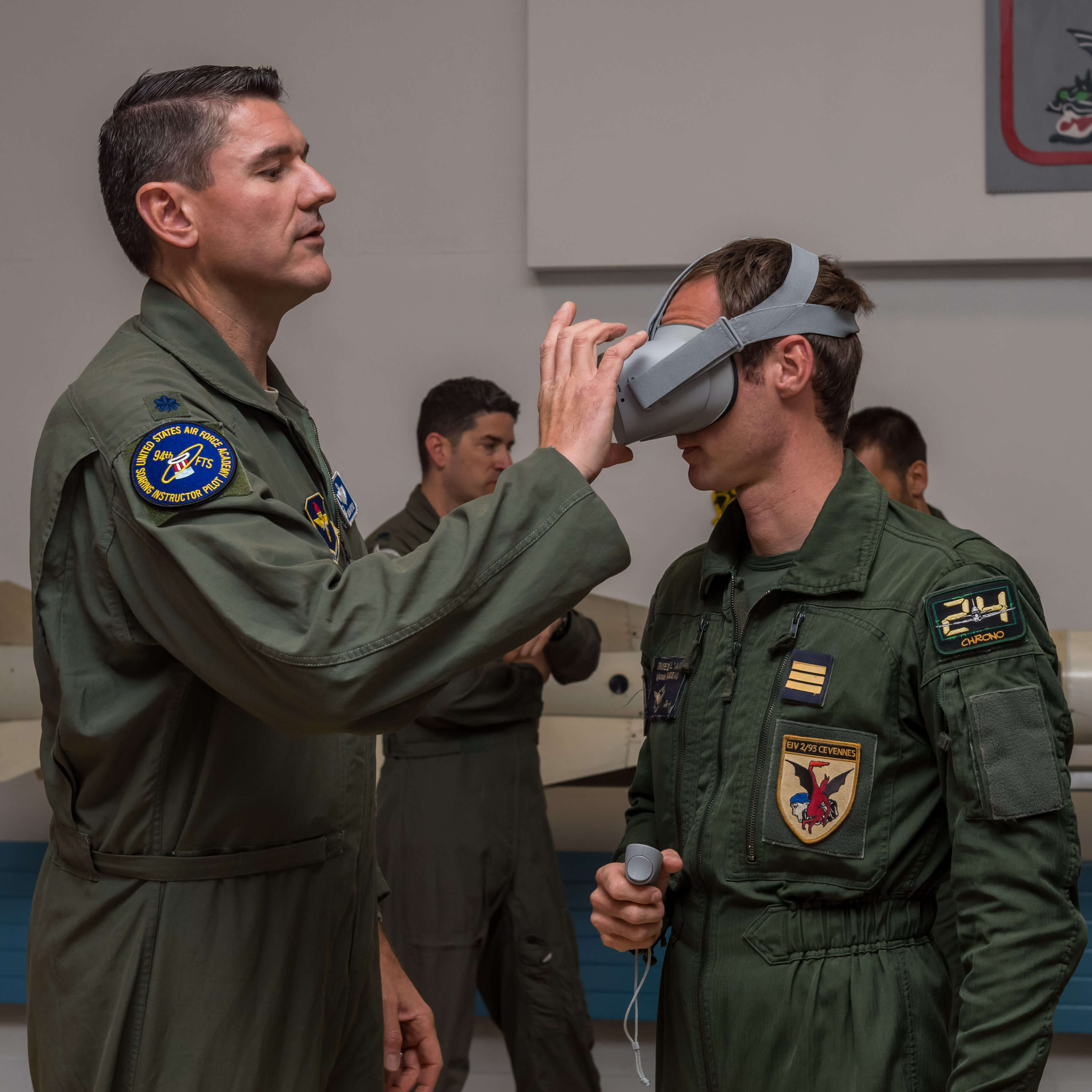 An exchange of ideas': 306th FTG instructors visit French air force
