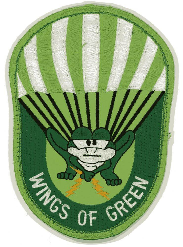 Wings of Green patch