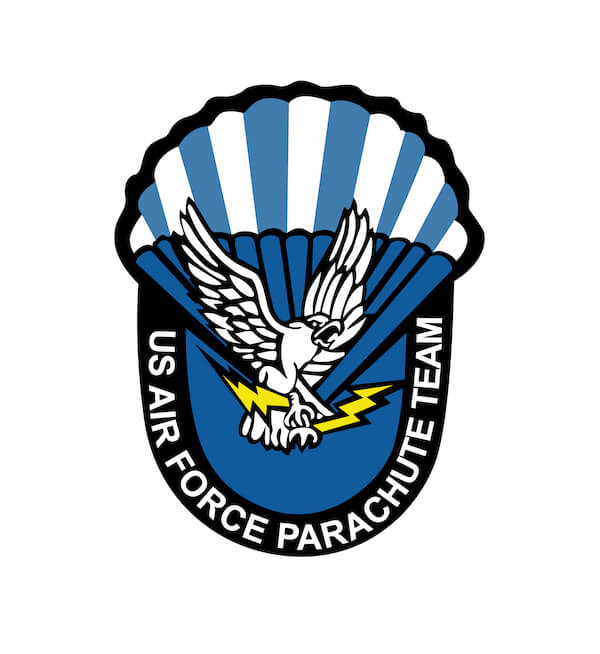 USAFA Wings of Blue Logo
