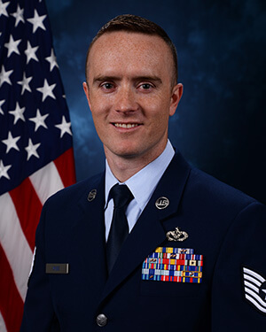 Official photo of TSgt Wise (DFCE)