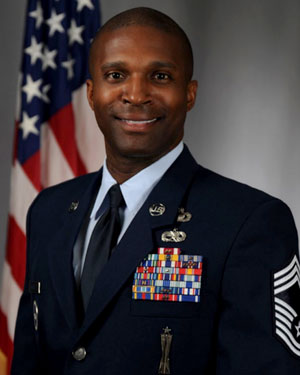 Image of Chief Master Sergeant Jerome S. Wright.