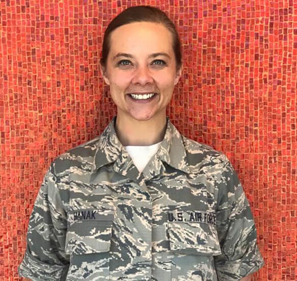 Tech Sgt. Hanak