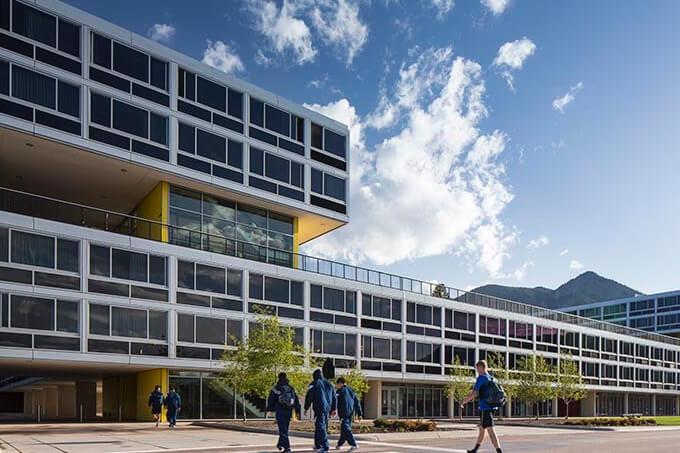 Vandenberg and Sijan Halls - United States Air Force Academy